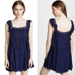 NWT Free People Priscilla Mini Dress